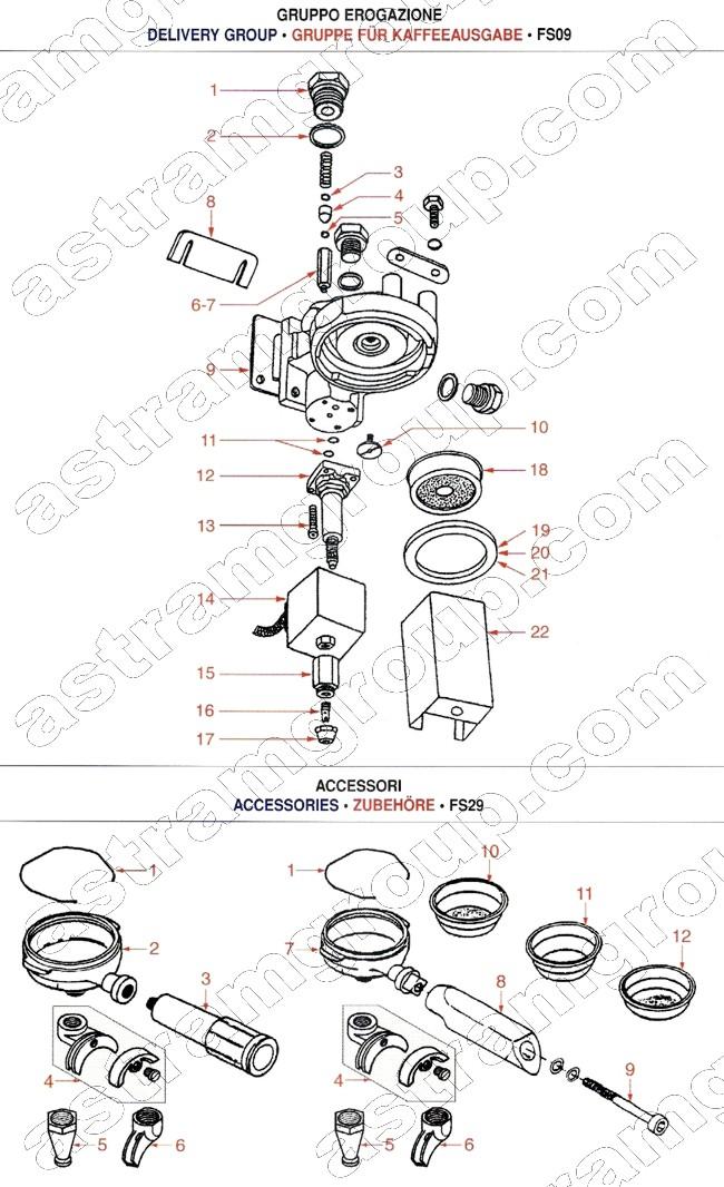 gaggia solenoid schematic