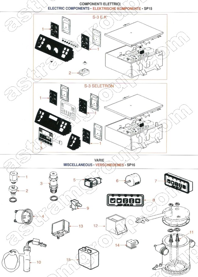 spaziale  electric components  u0026 miscellaneous